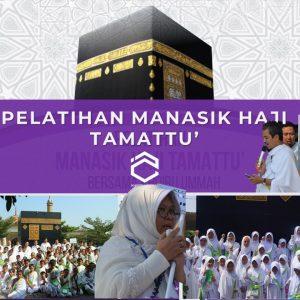 Manasik Haji Bersama Sekolah Tahfizh Plus Khoiru Ummah