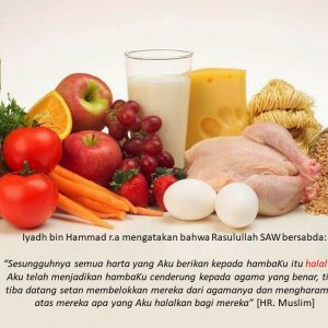 Khoiru Ummah – Halalan Thoyyiban Makanan dan MinumanKU