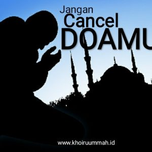 Jangan Cancel Doamu