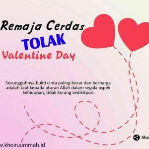 Guru Menulis : Remaja Cerdas Tolak V-Day